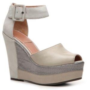 Women's Bacio 61 Cappella Grey Leather Sandals